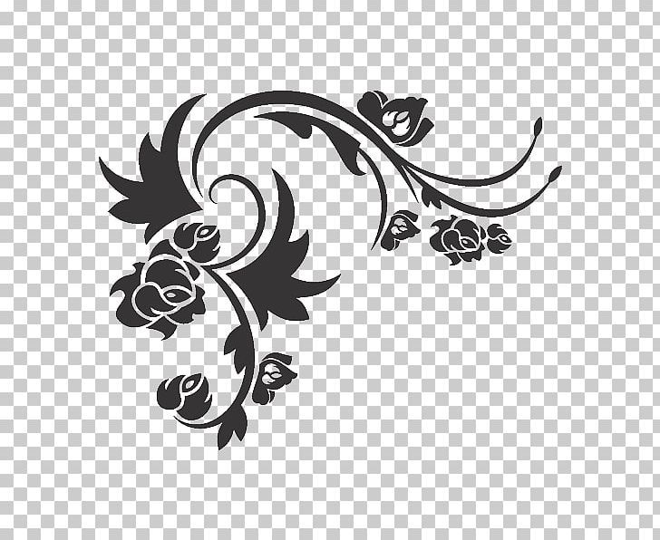 Flower Wall Design Png
