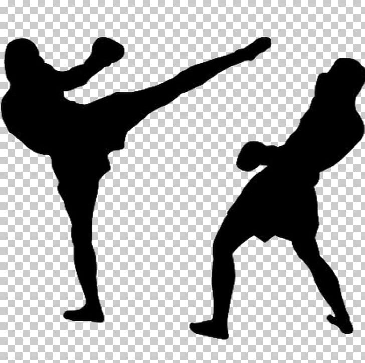 Kickboxing Muay Thai Karate PNG, Clipart, Aerobic Kickboxing, Black And White, Boxing, Grappling, Human Behavior Free PNG Download