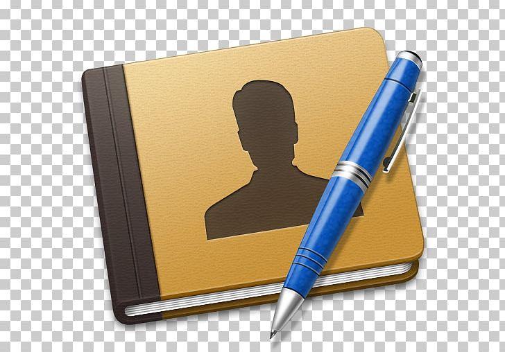 Pen Office Supplies PNG, Clipart, Address, Address Book, Application, Blue, Book Free PNG Download