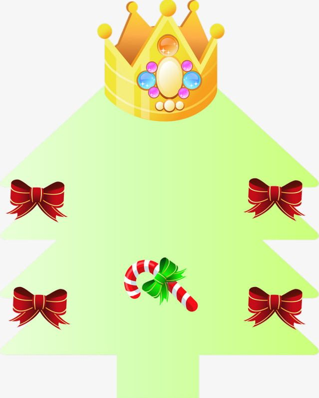 Crown Green Christmas Tree PNG, Clipart, Christmas, Christmas Clipart, Christmas Clipart, Crown, Crown Clipart Free PNG Download