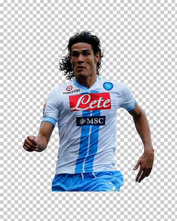 Edinson Cavani Ssc Napoli Serie A Football Player As