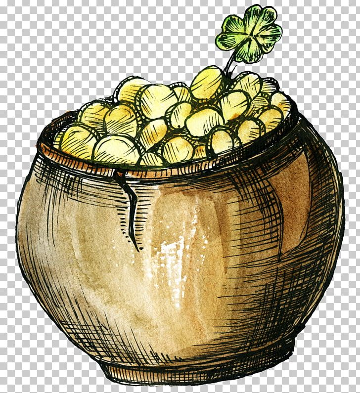 Pot Of Gold PNG, Clipart, Cartoon, Container, Download, Encapsulated Postscript, Flowerpot Free PNG Download