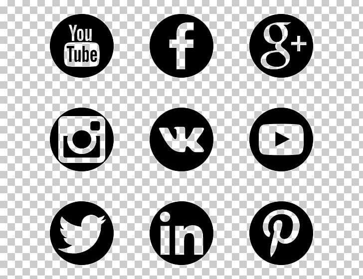 Social Media Computer Icons Blog PNG, Clipart, Area, Black And White, Blog, Brand, Circle Free PNG Download