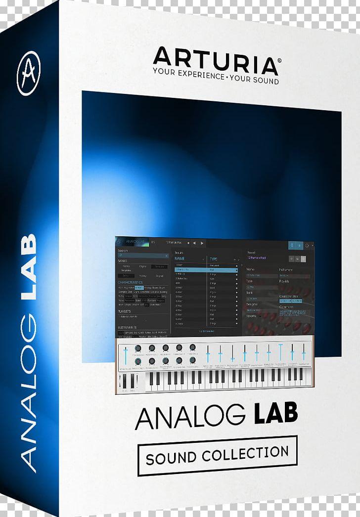 Arturia Virtual Studio Technology Sound Synthesizers Effects