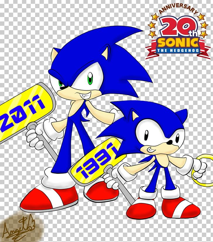 Sonic The Hedgehog Wii Png Clipart Animals Anniversary Area Artwork Cartoon Free Png Download
