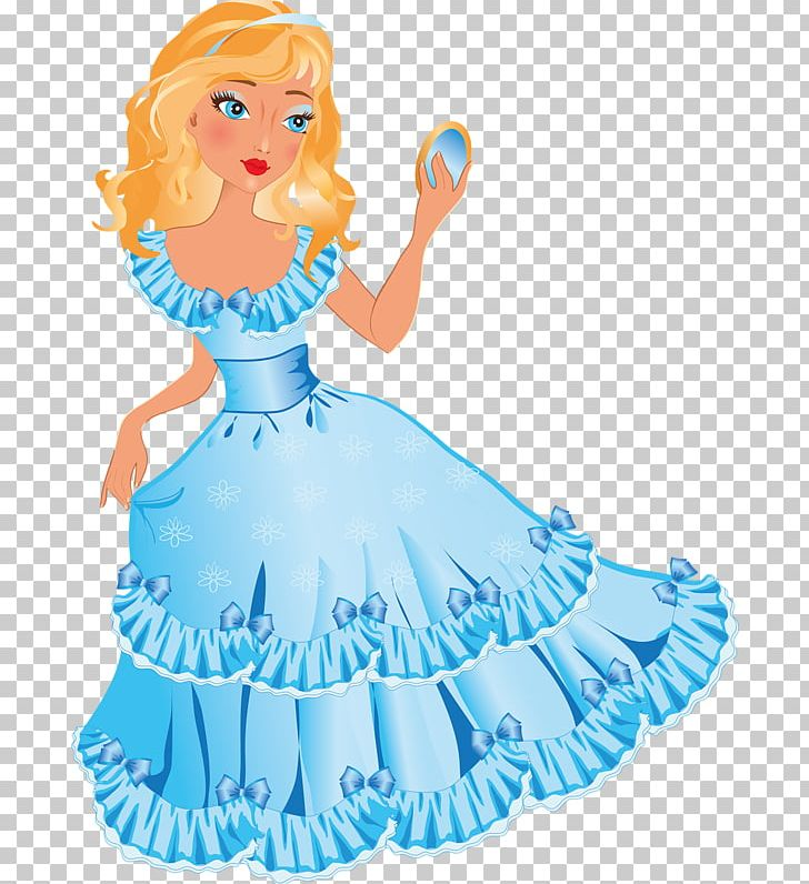 Princess Cartoon Dress PNG, Clipart, Beautiful, Blue, Blue