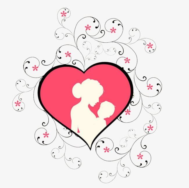 Pink Heart Mother's Day Mother's Arms Child Element PNG, Clipart, Arms, Arms Clipart, Child, Child Clipart, Day Free PNG Download