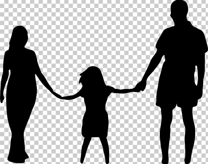 Mother Father Daughter Family PNG, Clipart, Black And White, Child, Communication, Conversation, Daughter Free PNG Download