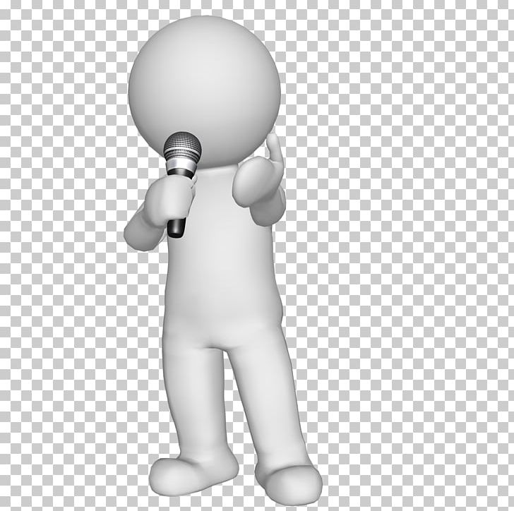 Microphone 3-D Man Sound Recording And Reproduction Character PNG, Clipart, 3 D Man, 3d Man, Audio Power Amplifier, Audio Signal, Character Free PNG Download