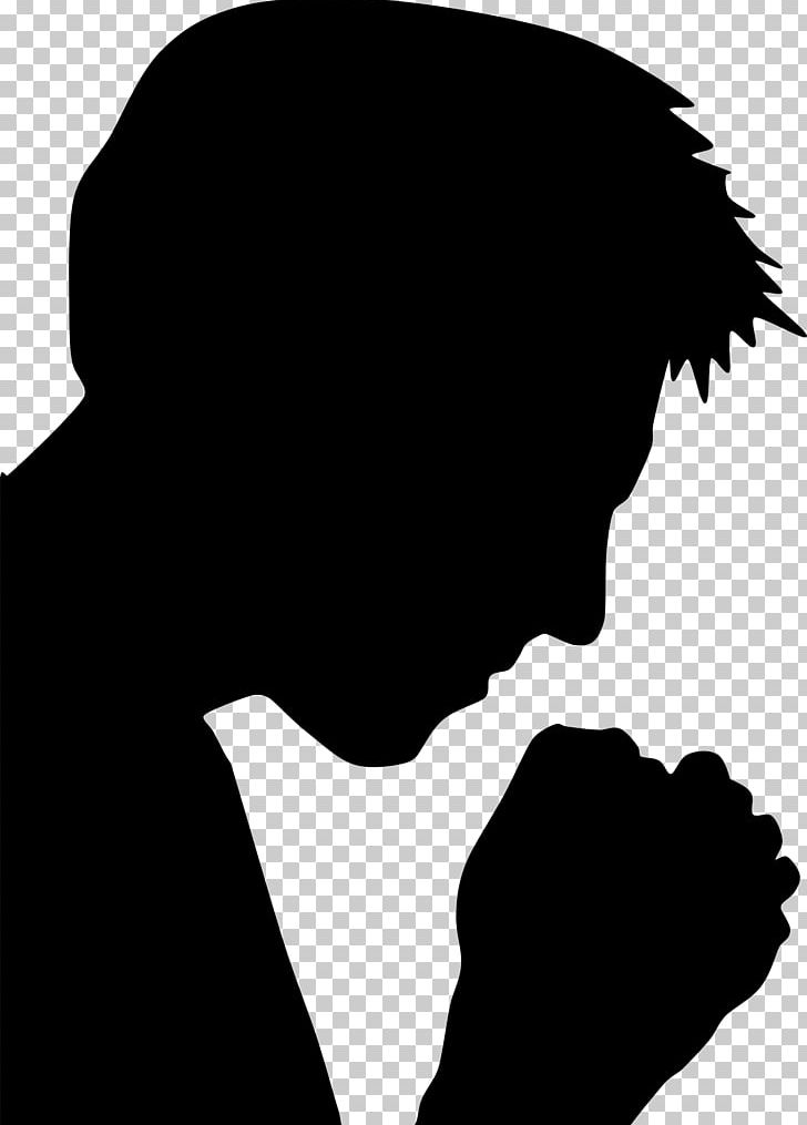 Praying Hands Prayer Silhouette Religion PNG, Clipart, Animals, Black, Black And White, Christianity, Christian Prayer Free PNG Download