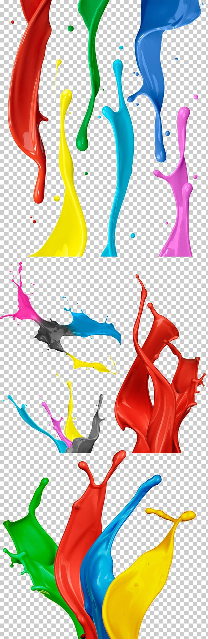 Watercolor Painting Watercolor Painting PNG, Clipart, 5 Kinds Of Color Paint Splashes, Art, Cmyk Color Model, Coating, Color Free PNG Download