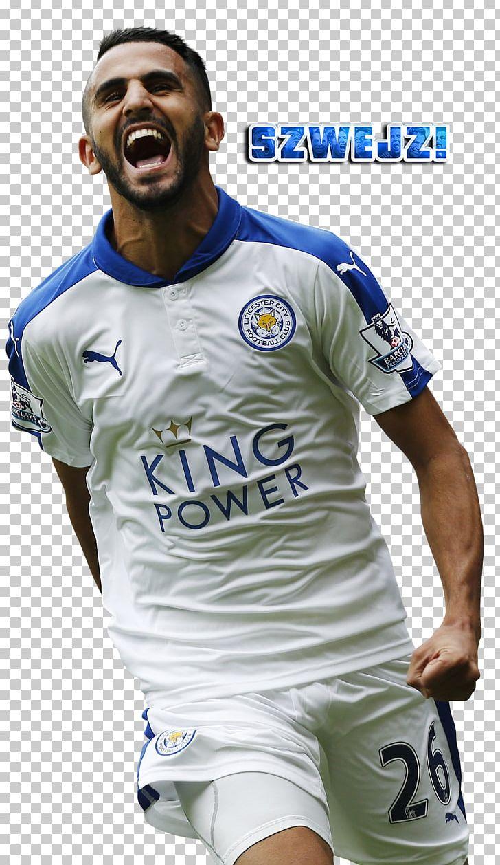 low priced 496ab 6f24e Riyad Mahrez Soccer Player Leicester City F.C. Premier ...