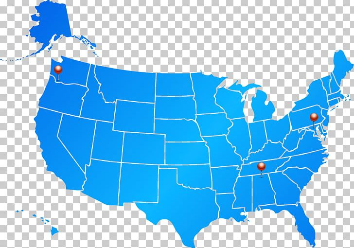 United States Map Blue PNG, Clipart, Area, Blank Map, Blue ... on blue nile state map, america red blue county map, blue 3d usa map,
