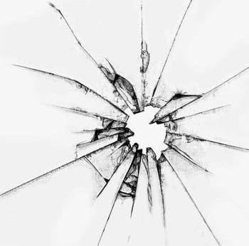 Shattered Glass PNG, Clipart, Broken, Bullet, Bullet Holes