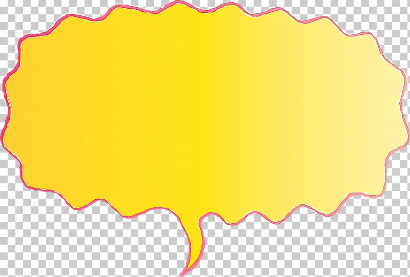 Yellow Rectangle PNG, Clipart, Paint, Rectangle, Speech Balloon, Thought Bubble, Watercolor Free PNG Download