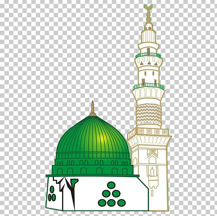 Al-Masjid An-Nabawi Great Mosque Of Mecca Green Dome Imam Ali Mosque PNG, Clipart, Alaqsa Mosque, Almasjid Annabawi, Al Masjid An Nabawi, Azan, Building Free PNG Download