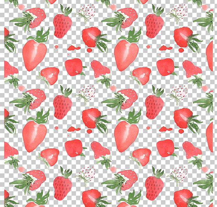 Strawberry Watercolor Painting Illustration PNG, Clipart, Apple Fruit, Art, Cartoon, Design, Drawing Free PNG Download