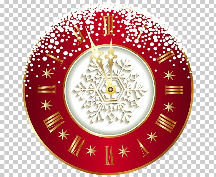 New Year's Day Wish New Year's Eve Christmas PNG, Clipart, Area, Christmas, Christmas Ornament, Circle, Clock Free PNG Download