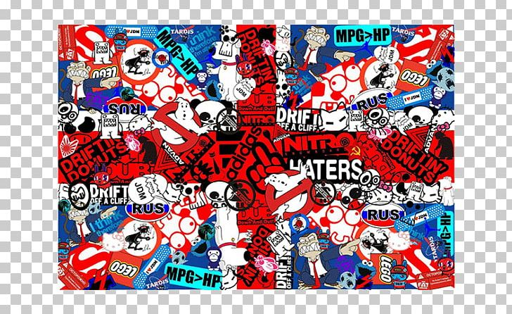 Sticker Bomb Desktop Japanese Domestic Market PNG, Clipart, 1080p, Adhesive, Advertising, Art, Blue Free PNG Download