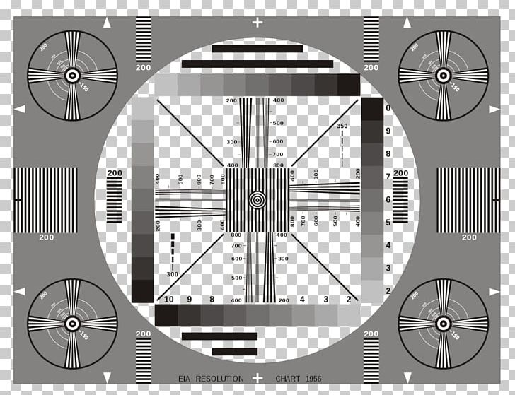 Photographic Film Test Card Computer Monitors Indian-head Test