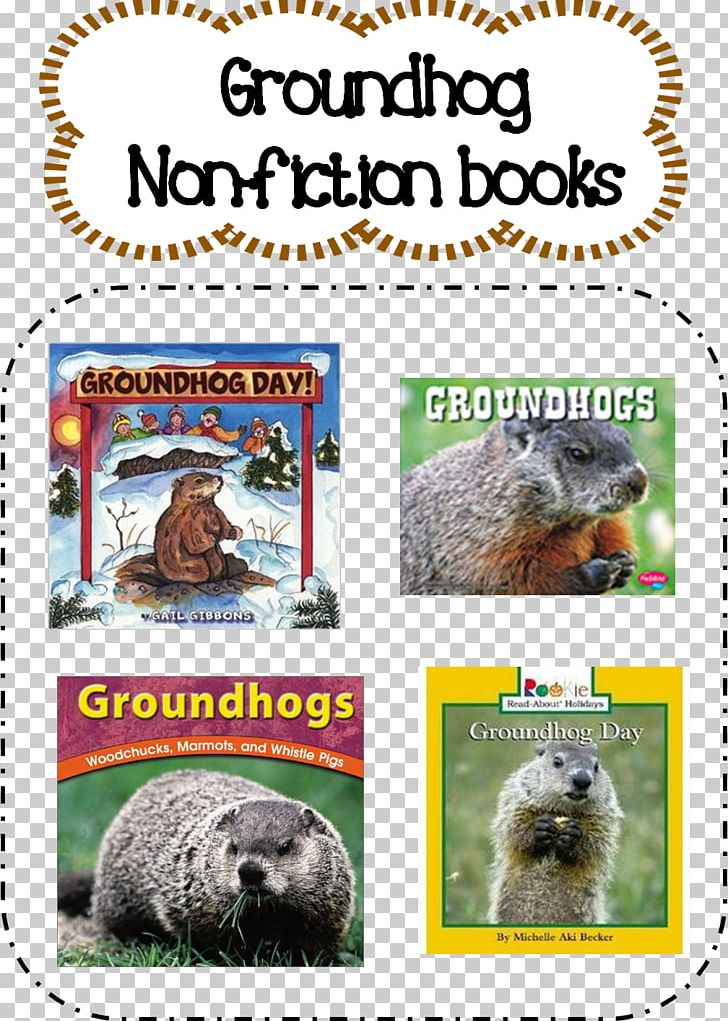 Groundhog Day! Fauna Flora PNG, Clipart, Beaver, Compact Disc, Fantasy Book, Fauna, Flora Free PNG Download