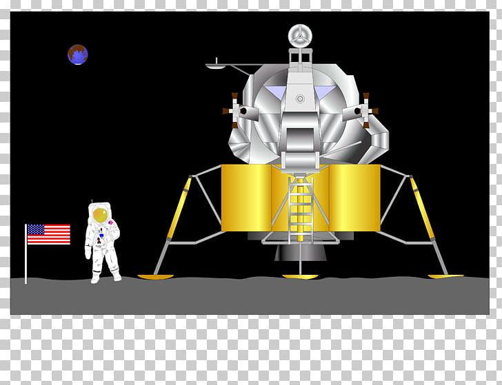 Apollo 11 Moon Landing Spacecraft Apollo Lunar Module PNG