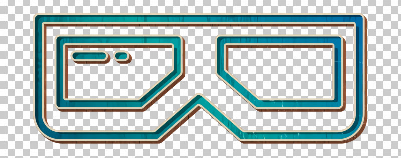 Movie  Film Icon 3d Glasses Icon 3d Film Icon PNG, Clipart, 3d Film Icon, 3d Glasses Icon, Aqua, Electric Blue, Line Free PNG Download
