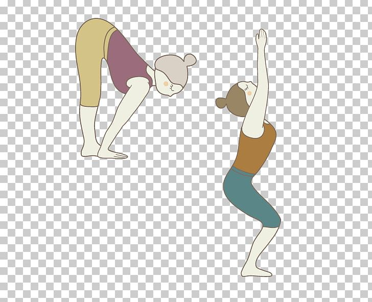Yoga Drawing Png Clipart Abdomen Arm Balance Bend Bend Over Free Png Download