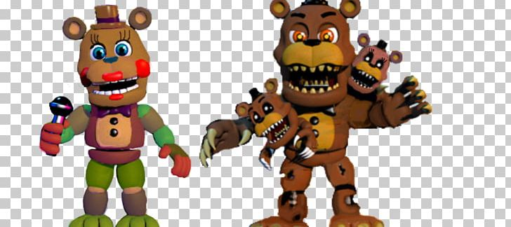 FNaF World Five Nights At Freddy's 4 Freddy Fazbear's