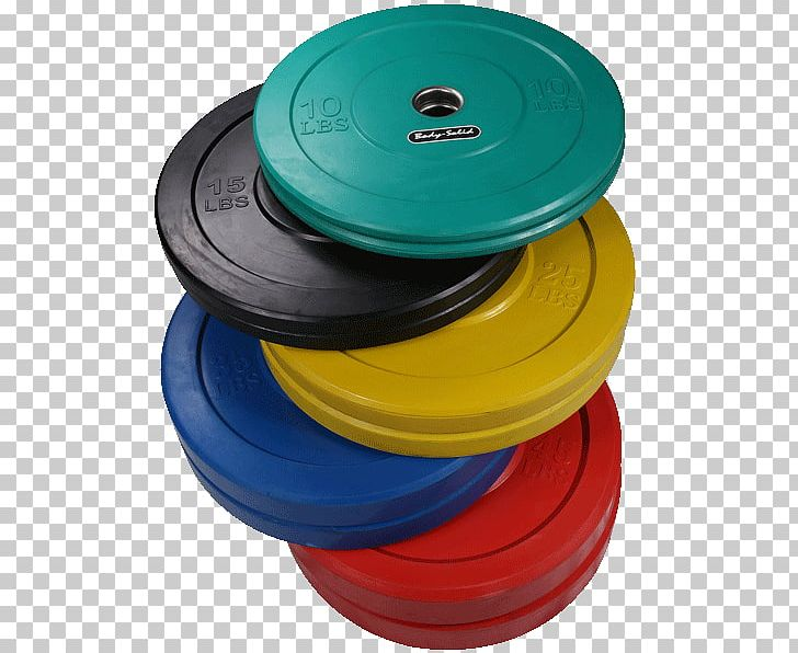 Olympic Games Natural Rubber Weight Plate Crumb Rubber Color PNG