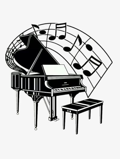 Piano Notes PNG, Clipart, Instruments, Music, Musical