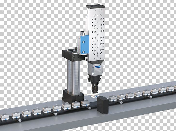 Automation SCHUNK Machine Pneumatic Cylinder Robotics PNG