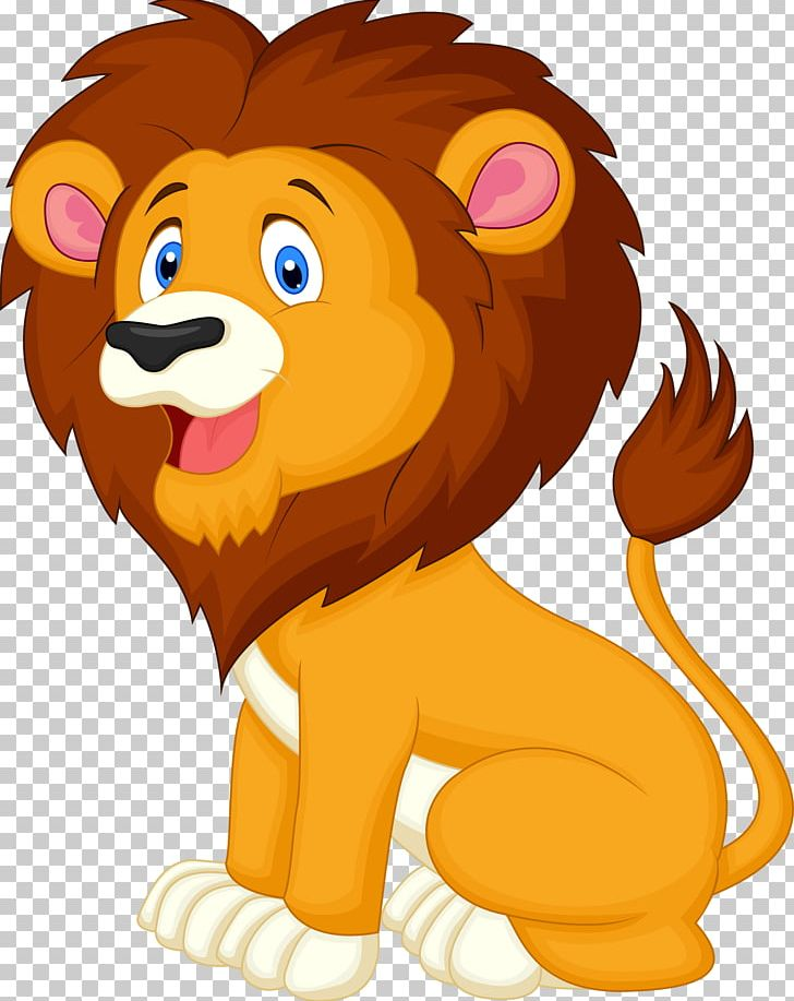 Lion animated. Tiger graphics illustration png