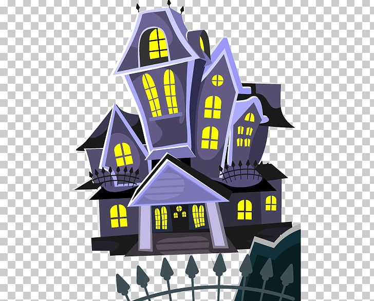 Halloween Haunted Attraction House Illustration PNG, Clipart, Background Vector, Cemetery, Cemetery Vector, Decorative Elements, Design Element Free PNG Download
