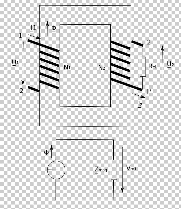 Magnetism Magnetic Circuit Magnetic Flux Craft Magnets Electrical Network PNG, Clipart, Angle, Area, Black And White, Circuit Component, Craft Magnets Free PNG Download