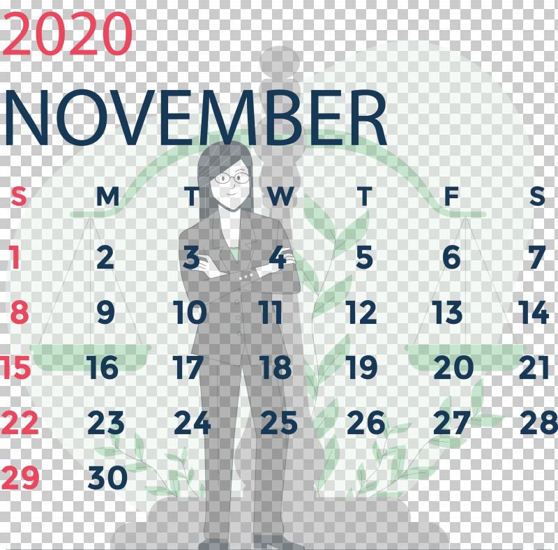 November 2020 Calendar November 2020 Printable Calendar PNG, Clipart, Area, Behavior, Biology, Calendar System, Energy Free PNG Download