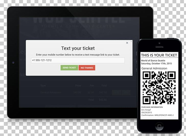 Ticket System IPhone Mobile Ticketing Digital Ticket PNG, Clipart, Barcode, Brand, Communication, Concert, Digital Ticket Free PNG Download