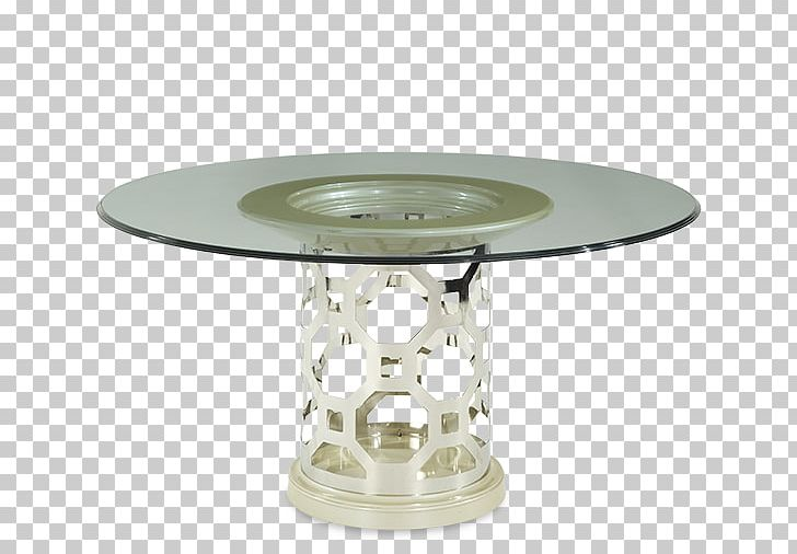 Tremendous Contemporary Pearl Cylinder Base 60 Round Glass Top Dining Home Interior And Landscaping Eliaenasavecom