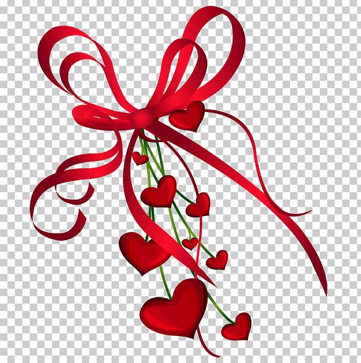 Valentine's Day Heart PNG, Clipart, Branch, Clip Art, Computer Graphics, Desktop Wallpaper, Floral Design Free PNG Download