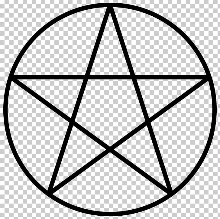 Pentagram Pentacle Wicca Satanism Sigil Of Baphomet PNG, Clipart, Angle, Area, Black And White, Circle, Earth Free PNG Download