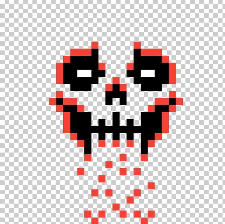Skull Pixel Art Calavera Skeleton PNG, Clipart, Anatomy