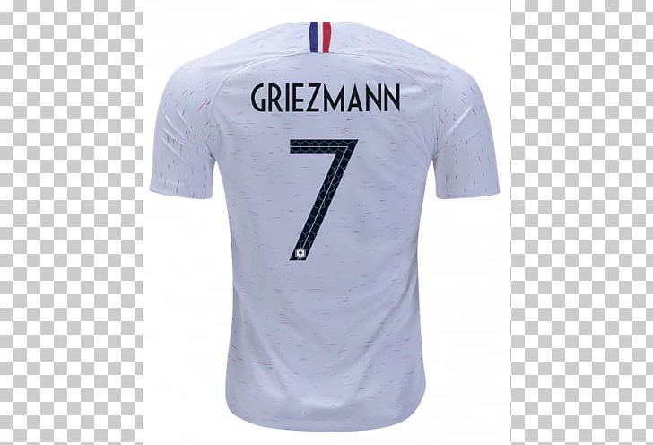 newest 562d3 cac8c 2018 World Cup France National Football Team T-shirt 2014 ...