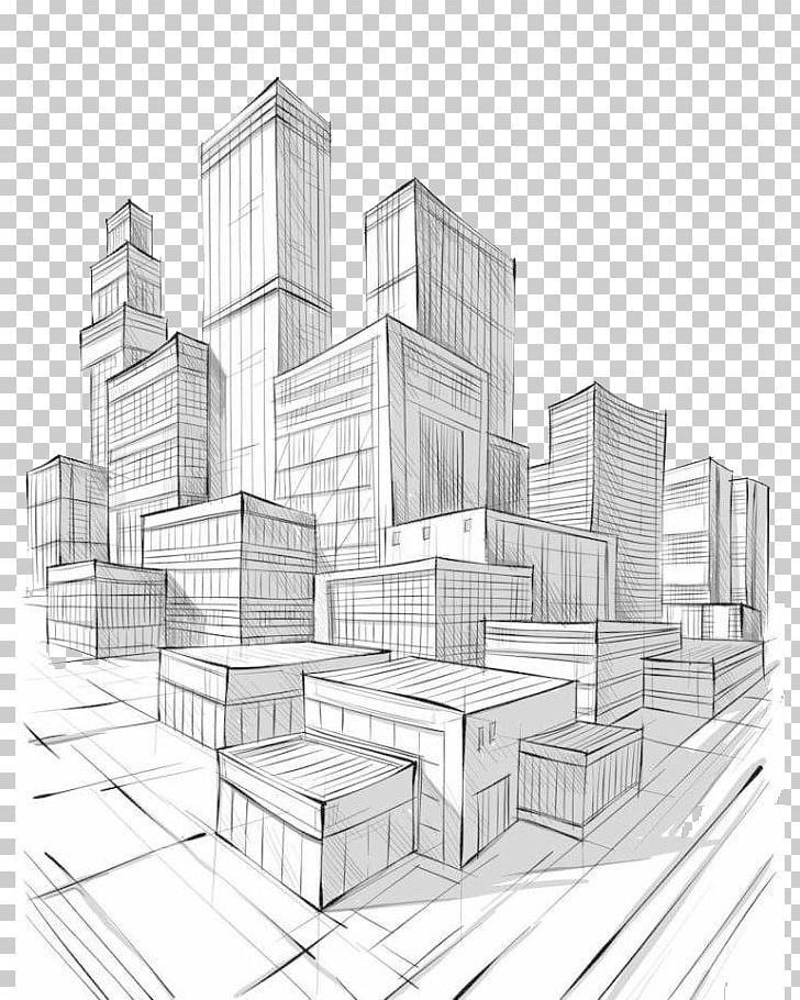 The Architecture Of The City Drawing PNG, Clipart, Angle
