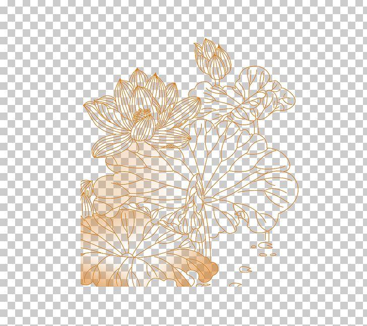 Lotus Flower Pattern Clipart - Flowers Healthy