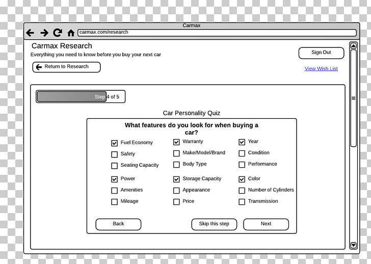 Screenshot Web Page Computer Program Line PNG, Clipart, Area, Brand, Car Wireframe, Computer, Computer Program Free PNG Download