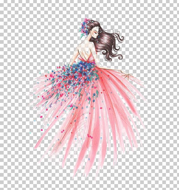 Fashion Illustration Drawing Art Sketch Png Clipart Baby Girl Beauty Design Deviantart Fashion Free Png Download