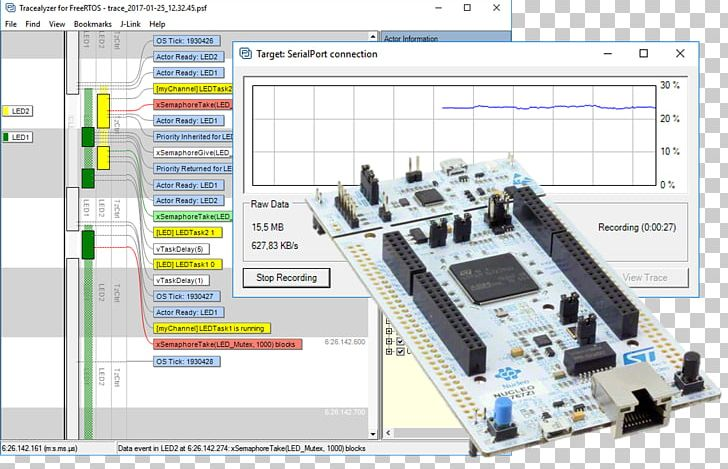 Electronic Component STM32 STMicroelectronics Microprocessor