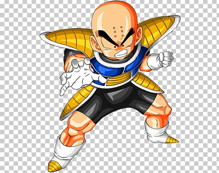 Krillin Goku Vegeta Baby Dragon Ball Z Dokkan Battle Png