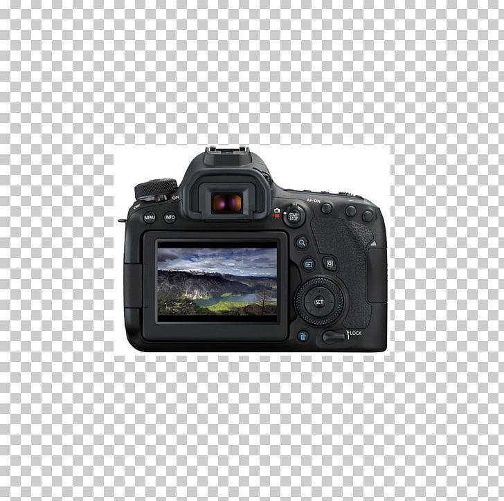 Canon EOS 6D Mark II Canon EOS 80D Digital SLR PNG, Clipart