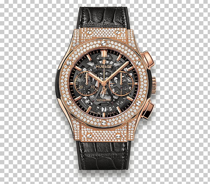 Hublot Chronograph Automatic Watch Bracelet PNG, Clipart, Accessories, Automatic Watch, Bracelet, Brand, Brown Free PNG Download